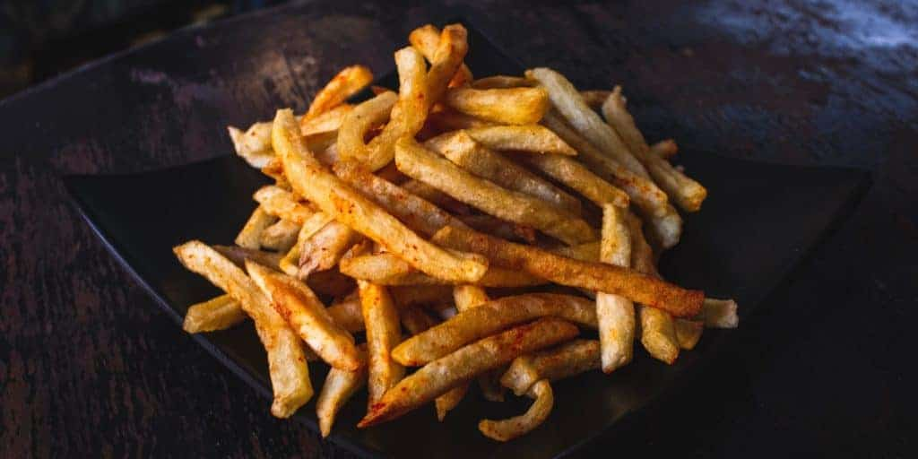 Imbiss Pommes Frites